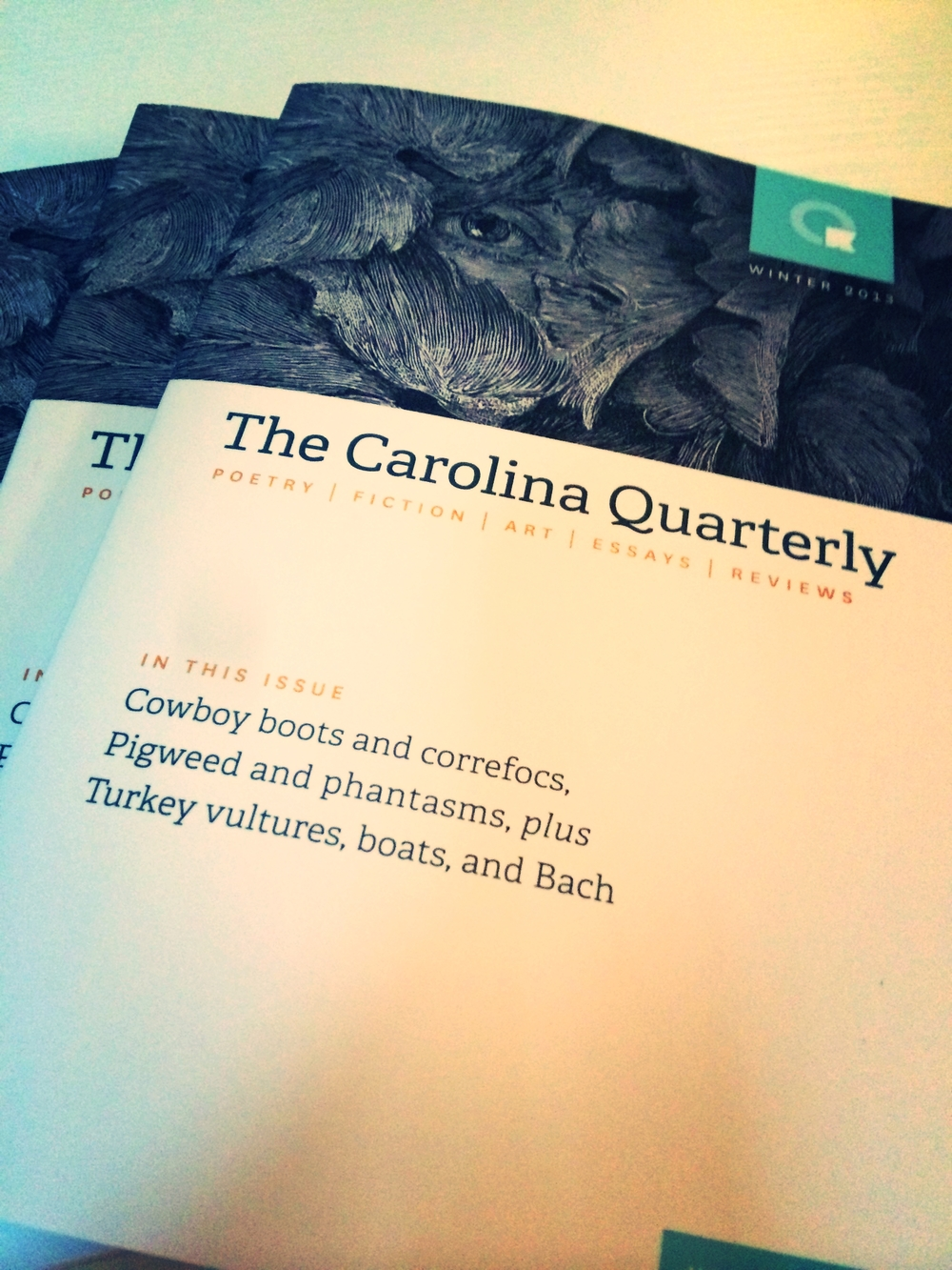 The Carolina Quarterly  Volume 63.3