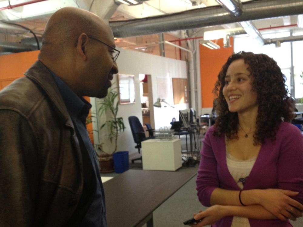 Interviewing Philadelphia Mayor Michael Nutter