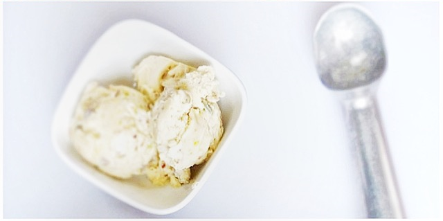 Pistachio Buttermilk Ice Cream