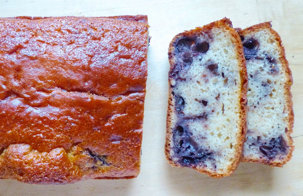 Blueberry, Chamomile Tea & Lemon Cake