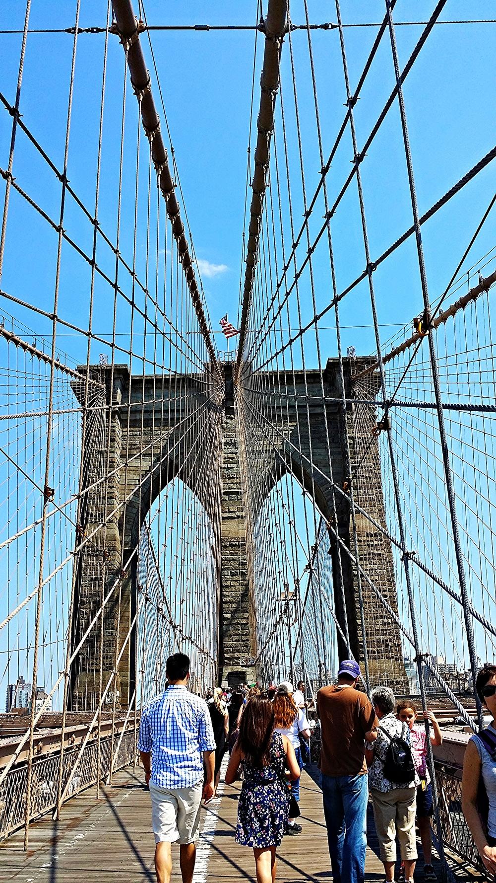 Shot from the Brooklyn Bridge. I love my new camera phone, it's pretty dope!