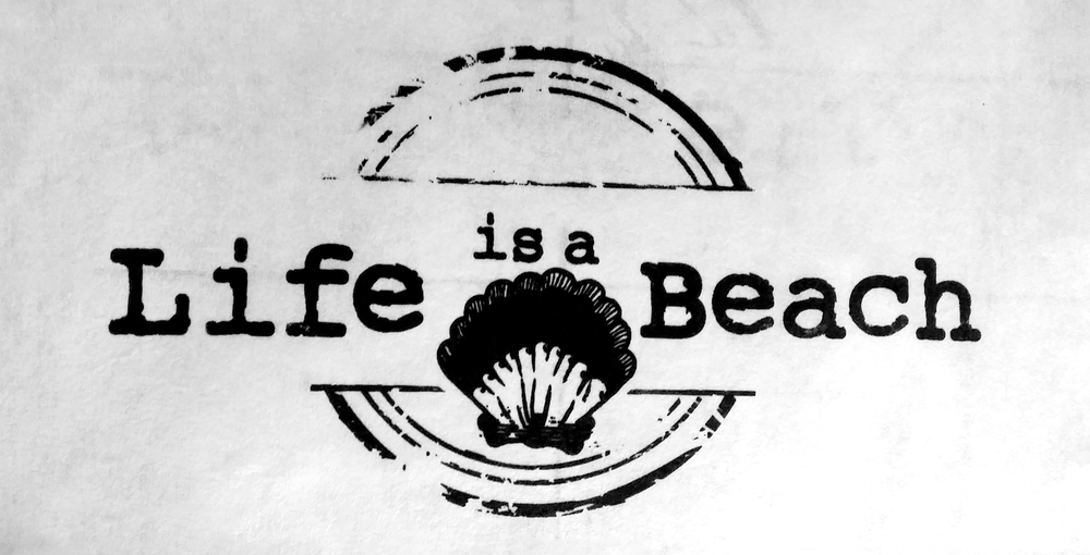Life is a Beach Graduation design. This is going to be printed on really nice cotton tank tops! can't wait!
