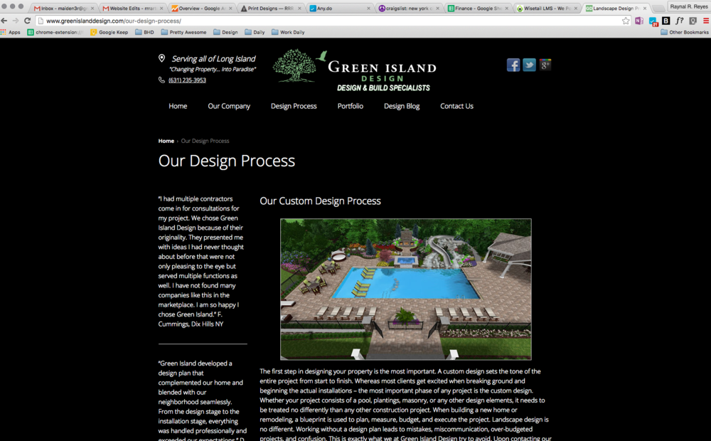 current site