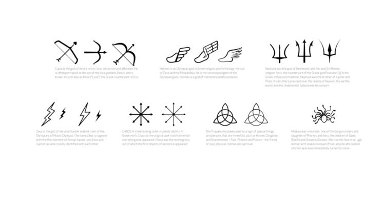 Greek Mythology Symbols Raynal Reyes