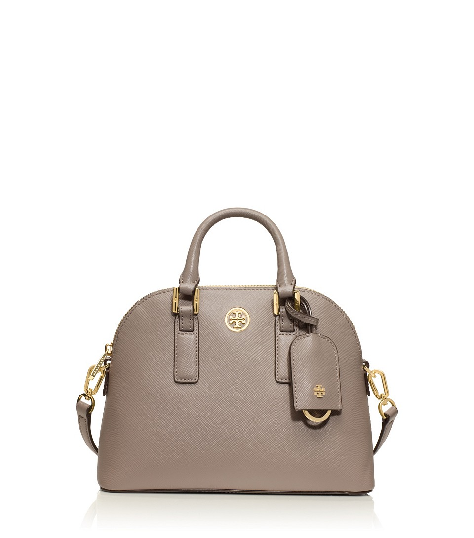 robinson mini dome satchel in dust storm