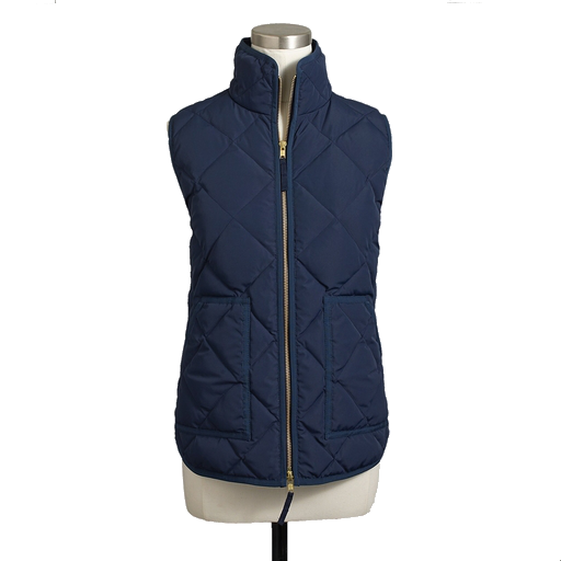 J.Crew Factory quilted puffer vest