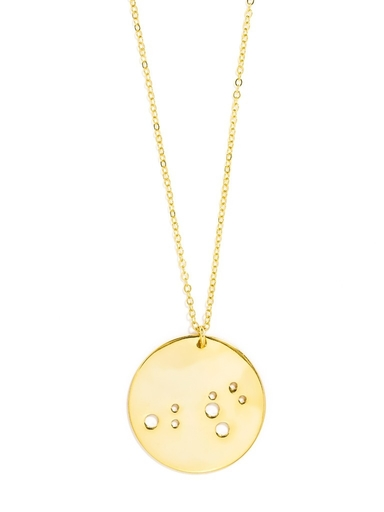 zodiac constellation pendant