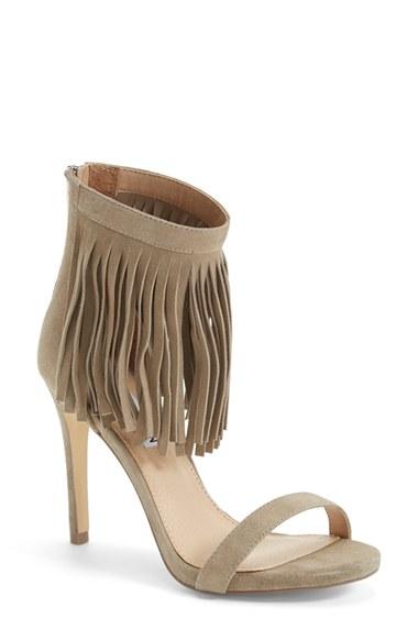 Steve Madden 'Staarz' Ankle Fringe Sandal