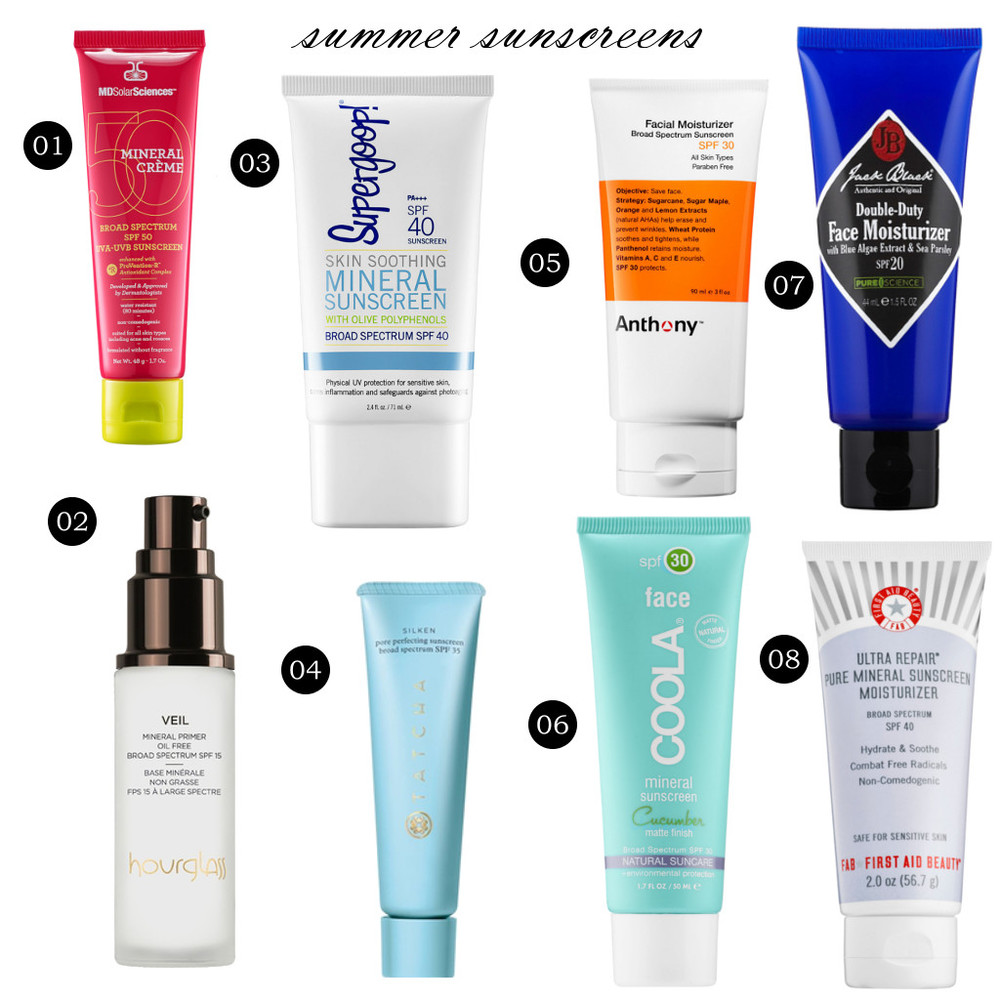 2015 08 10 beauty talk -- summer sunscreens