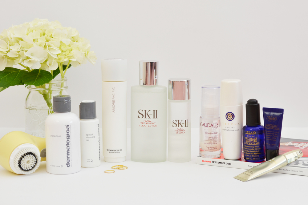 the pm skincare routine -- jannadoan.com