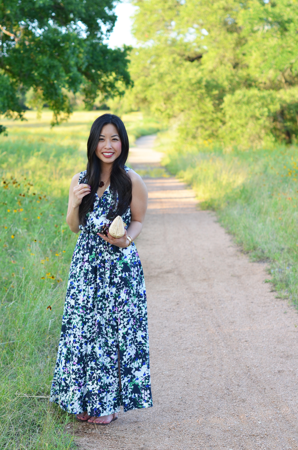 the floral maxi dress -- jannadoan.com