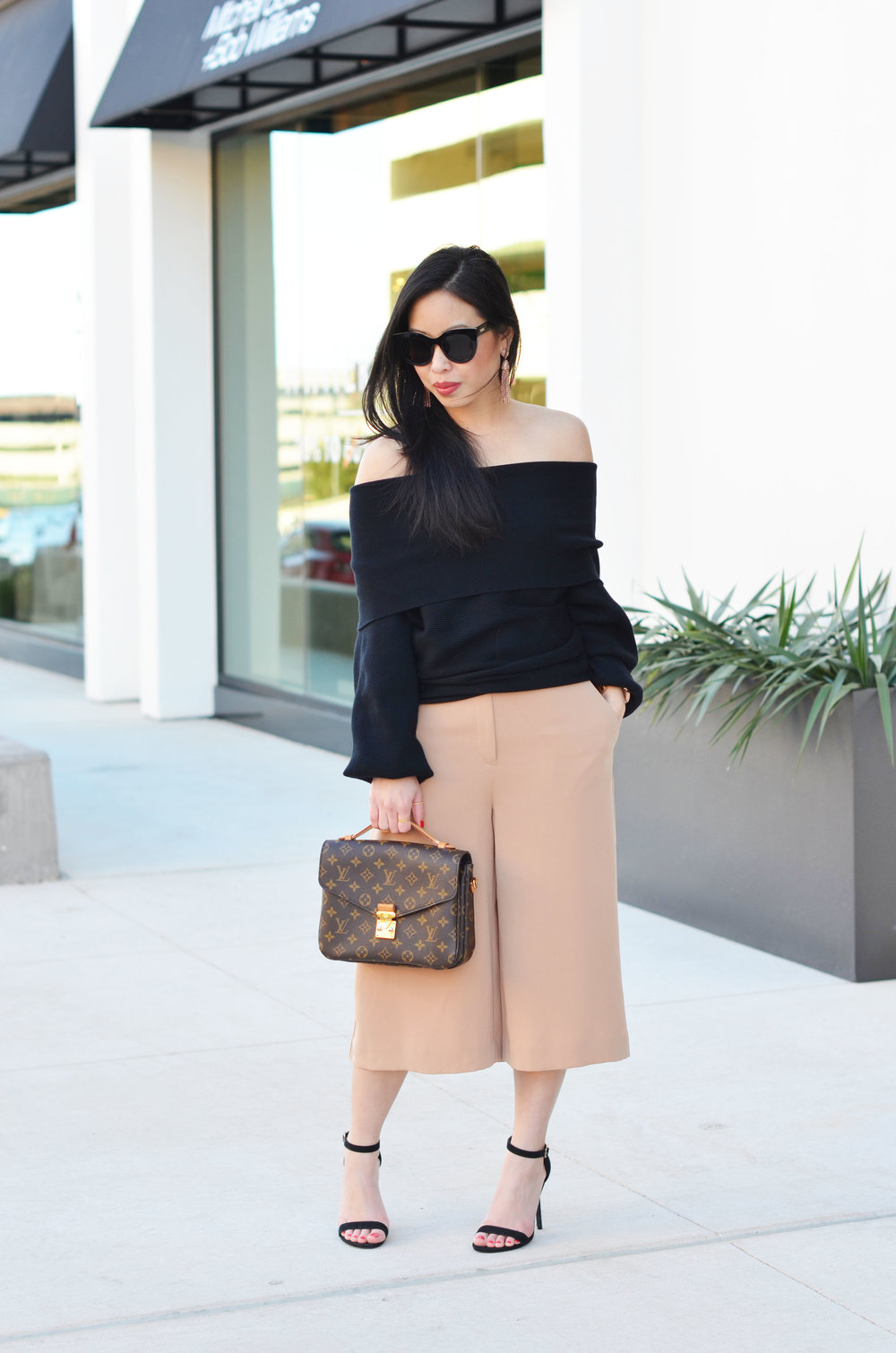 how to wear culottes -- jannadoan.com