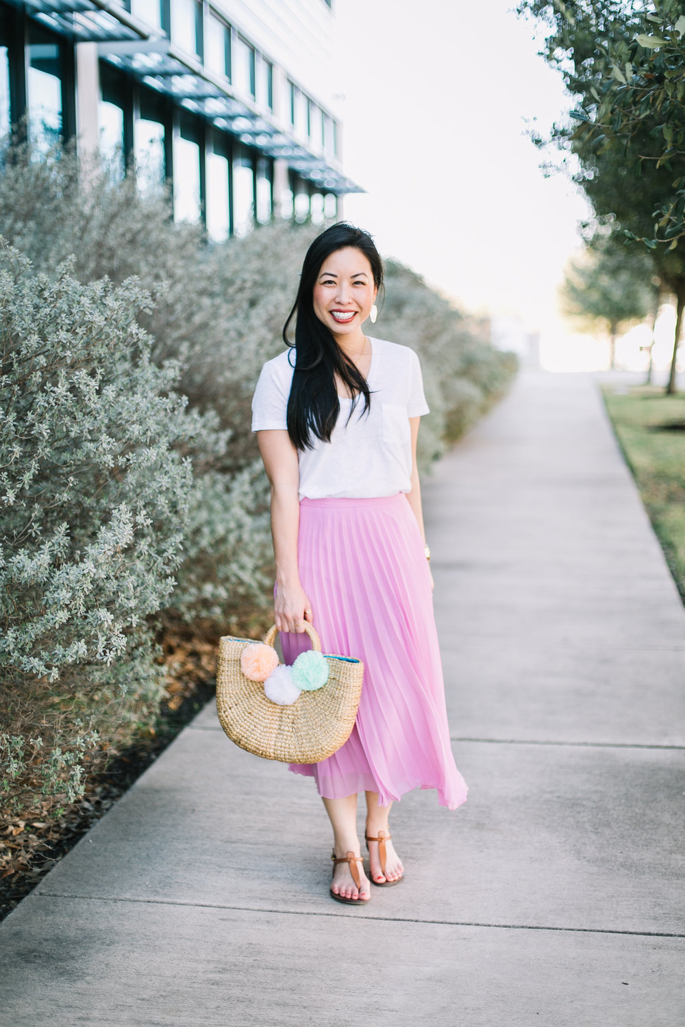 how to wear a pleated skirt casual style -- jannadoan.com