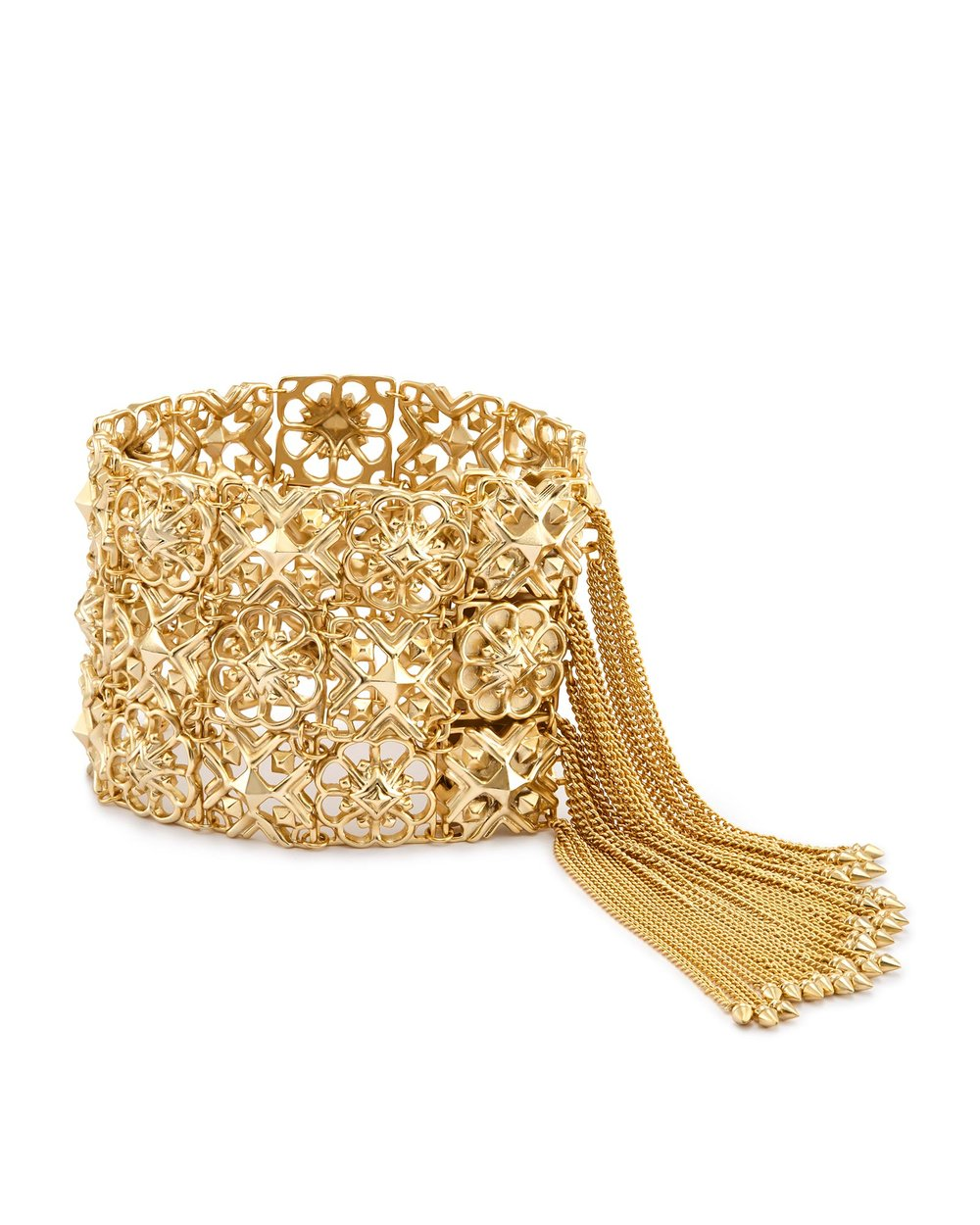 Kendra Scott iris statement bracelet in gold