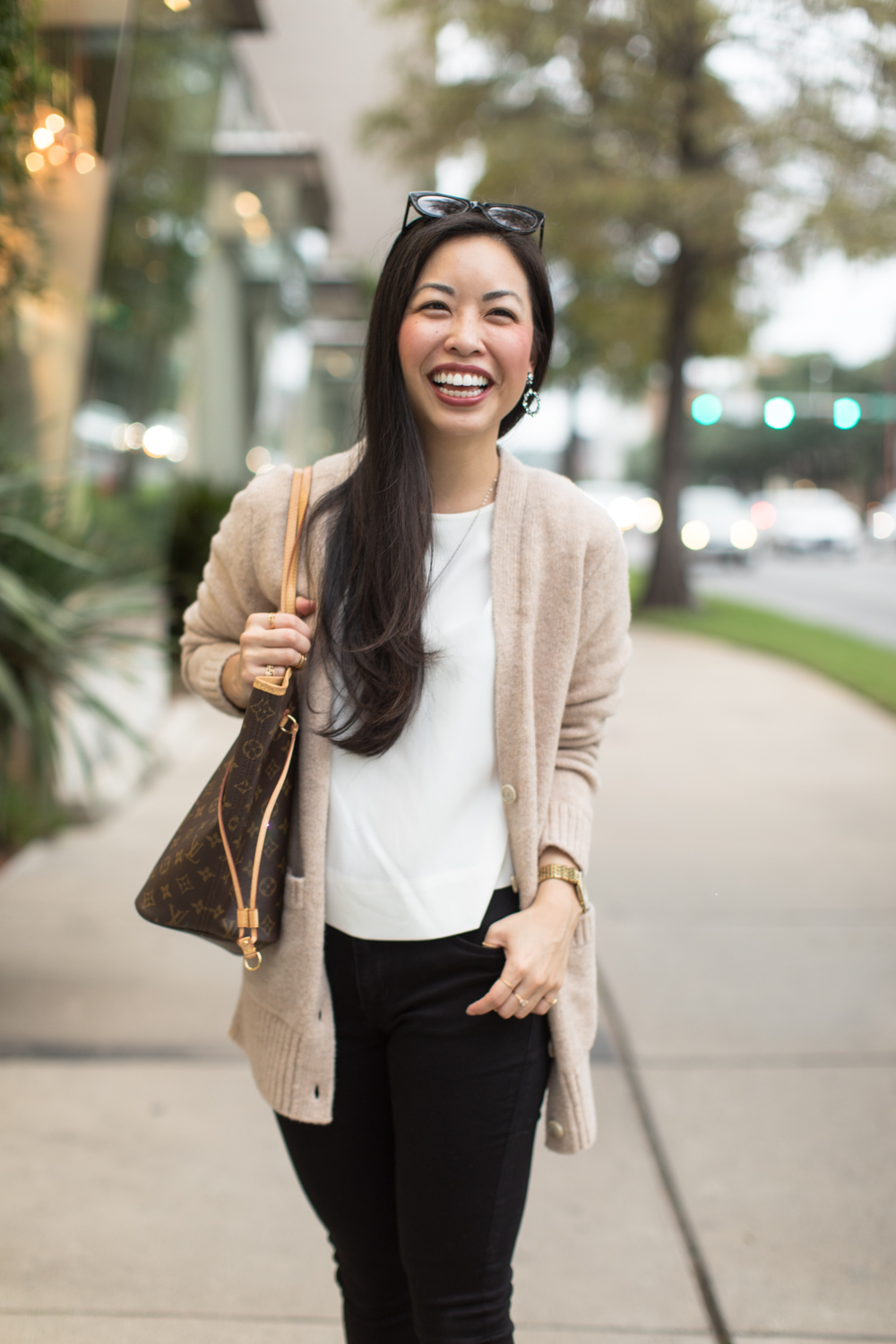 holiday ready with Banana Republic -- jannadoan.com