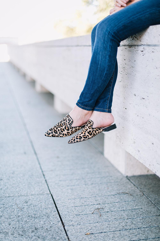 mustard & leopard print -- jannadoan.com