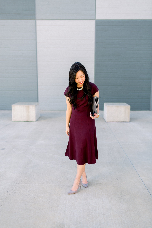 the burgundy & grey edit -- jannadoan.com