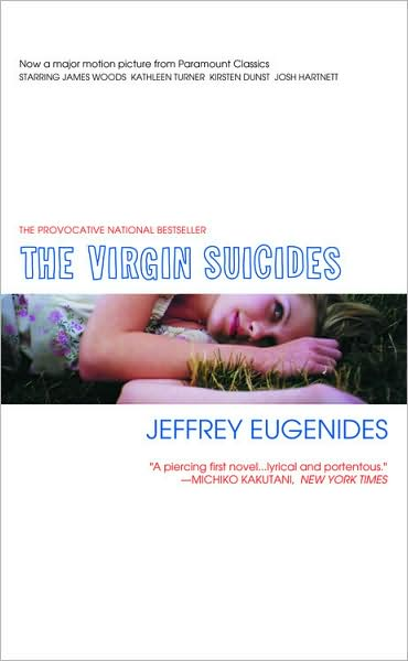 The Virgin Suicides front cover