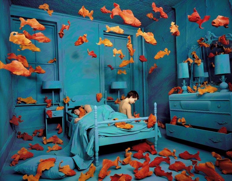revenge-of-the-goldfish-sandy-skoglund-1981
