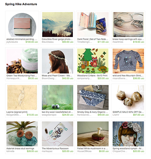 Spring Hike Adventure treasury