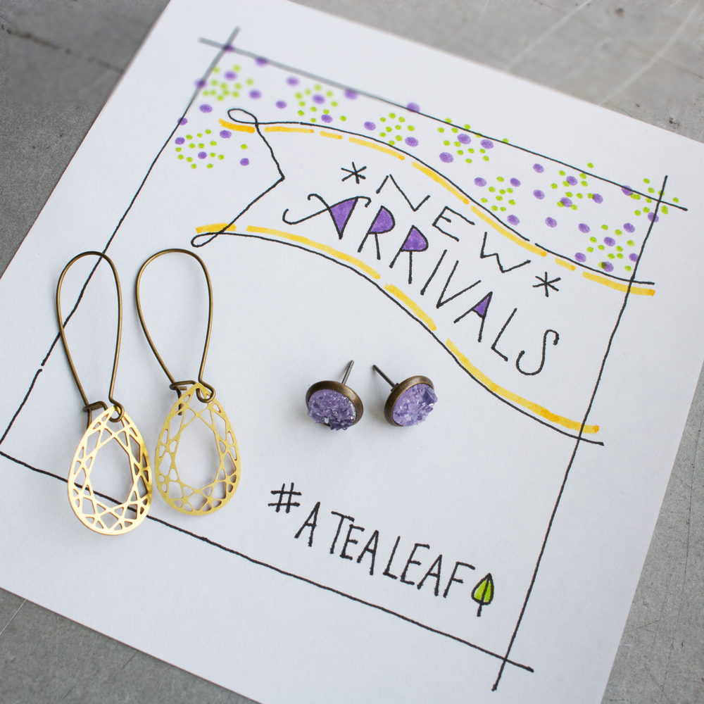 atealeaf new arrivals earrings