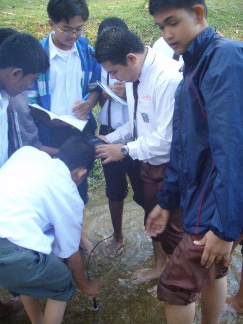 SMK Kampong Kastam students
