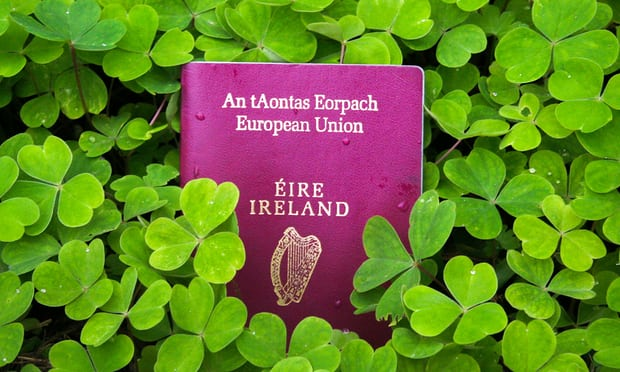'Are you one of the 100,000 Brits who's been issued with an Irish passport?' Photograph: Alamy