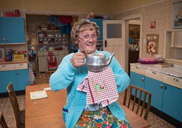 The Irish have a number of opinions on Mrs Brown's Boys. All are correct. Photograph: Graeme Hunter/BBC