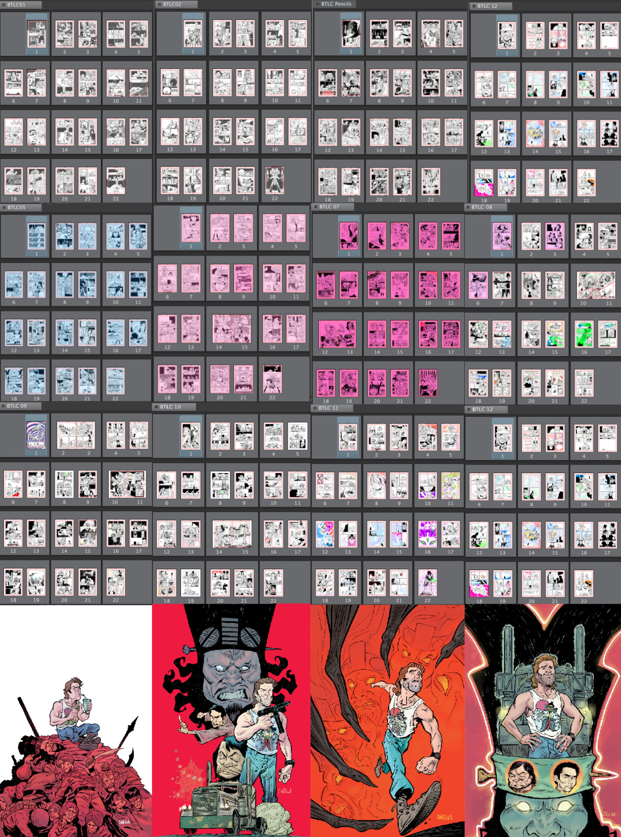 ryanklindsay :      brianchurilla :     So you want to be a comic book artist..? Here's some sobering information.  One year. 12 issues. 264 pages. 4 covers.   As a full-time comic artist this is the expected output, more or less. Not to say I haven't done a TON of work on the side to make ends meet, but as an artist on an ongoing monthly title, this is generally what you are expected to produce every year. Some artists do much more than this. Some less. It all depends on your productivity and drive.   It's taken a lot of work and a ton of luck, but I've managed to stay busy for the majority of my career. I've gotten married, bought a house and have two beautiful kids. All the while, I was working full time as a professional comic artist. This schedule has allowed me to stay home with the kids until they were ready for school. I'm truly grateful for the opportunities I've been given and all of the wonderful people I've gotten to know and work with over the years.   I wanted to take this opportunity to give people a look at what it really means to be a professional comic artist; good and bad.  This was a strictly work-for-hire job on a licensed book. That usually means no royalties. The page rate on this project was $125. This is considered an okay page rate by today's standards. Advances on creator-owned projects are a different matter and subject to different criteria, so are jobs at Marvel and DC. That being said, this is a middle-of-the-road page rate. Not great, not terrible.  Gross pay over the year in addition to those four covers was $33,625. After taxes? $24, 210. That's $2,017.50 a month (again, I do a lot of work on the side to make ends meet).  Nearly all of that aforementioned salary goes to the mortgage, and so the majority of the financial responsibility falls on my  wife .   Remember those kids i mentioned? Full-time daycare in Portland is somewhere in the neighborhood of $1,000 -$1,500 per kid. Not to mention health insurance, utilities, car payments