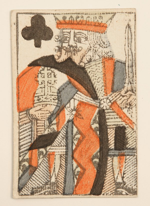 retrogasm :     King of Clubs from 1768
