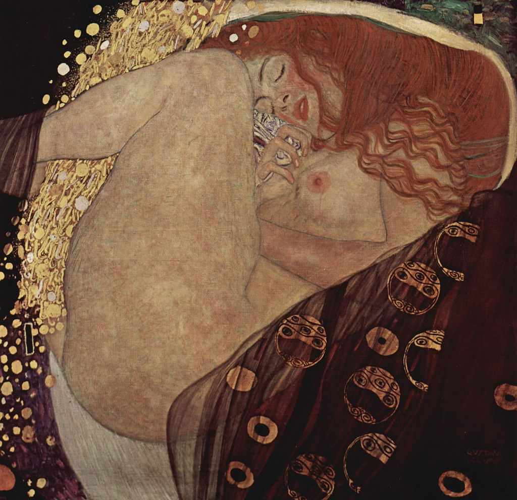 vergen :     Danaë by Gustav Klimt (1907)