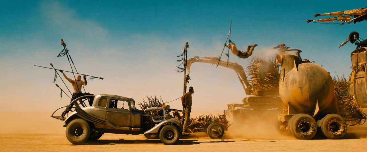 I reviewed MAD MAX: FURY ROAD.  You? Read it.  Deal?   http://www.hopscotchfriday.com/2015/05/mad-max-fury-road-one-one-one-two-one-red-black-go/