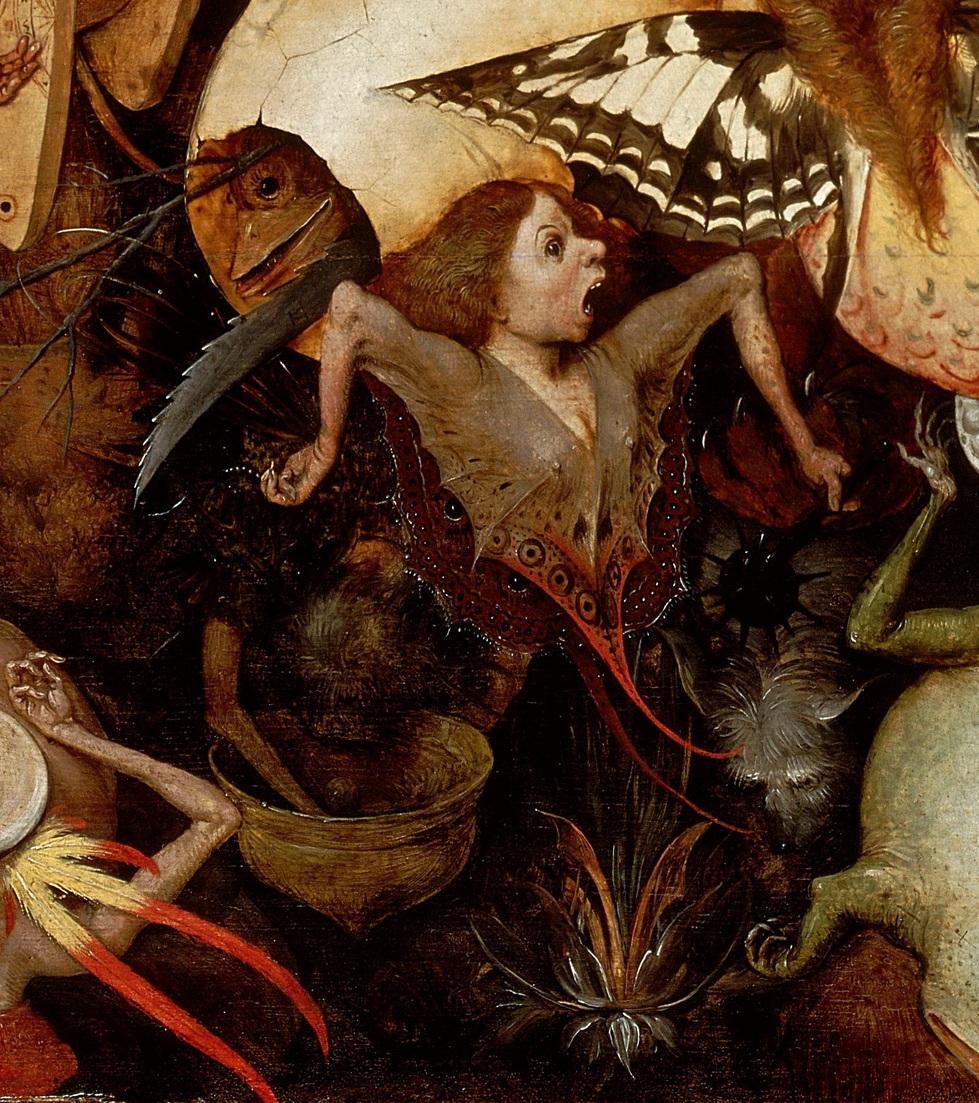 drakontomalloi :     Pieter Bruegel the Elder - The Fall of the Rebel Angels, detail.1562