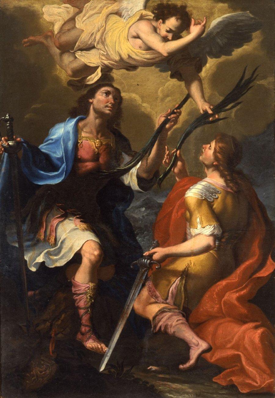 necspenecmetu :     Giacinto Boccanera, Saints Filino and Gratiniano, c. 1720-40