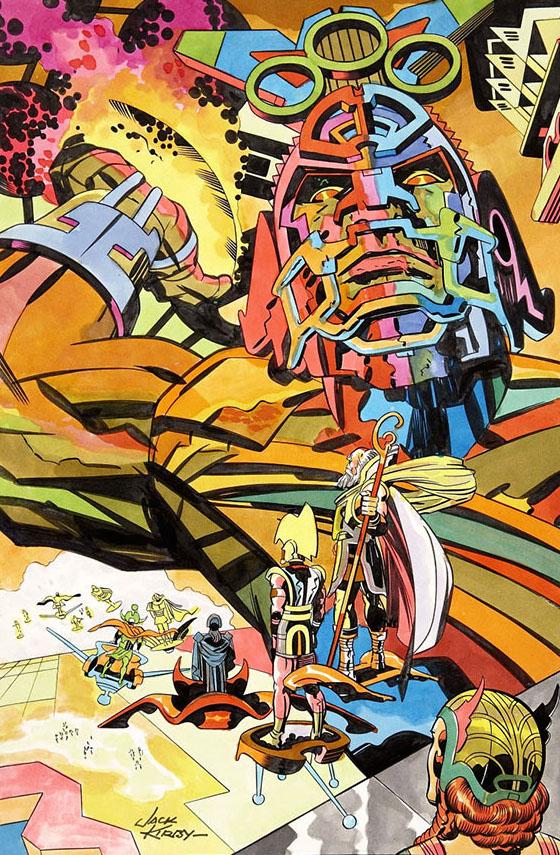 70sscifiart :     Jack Kirby