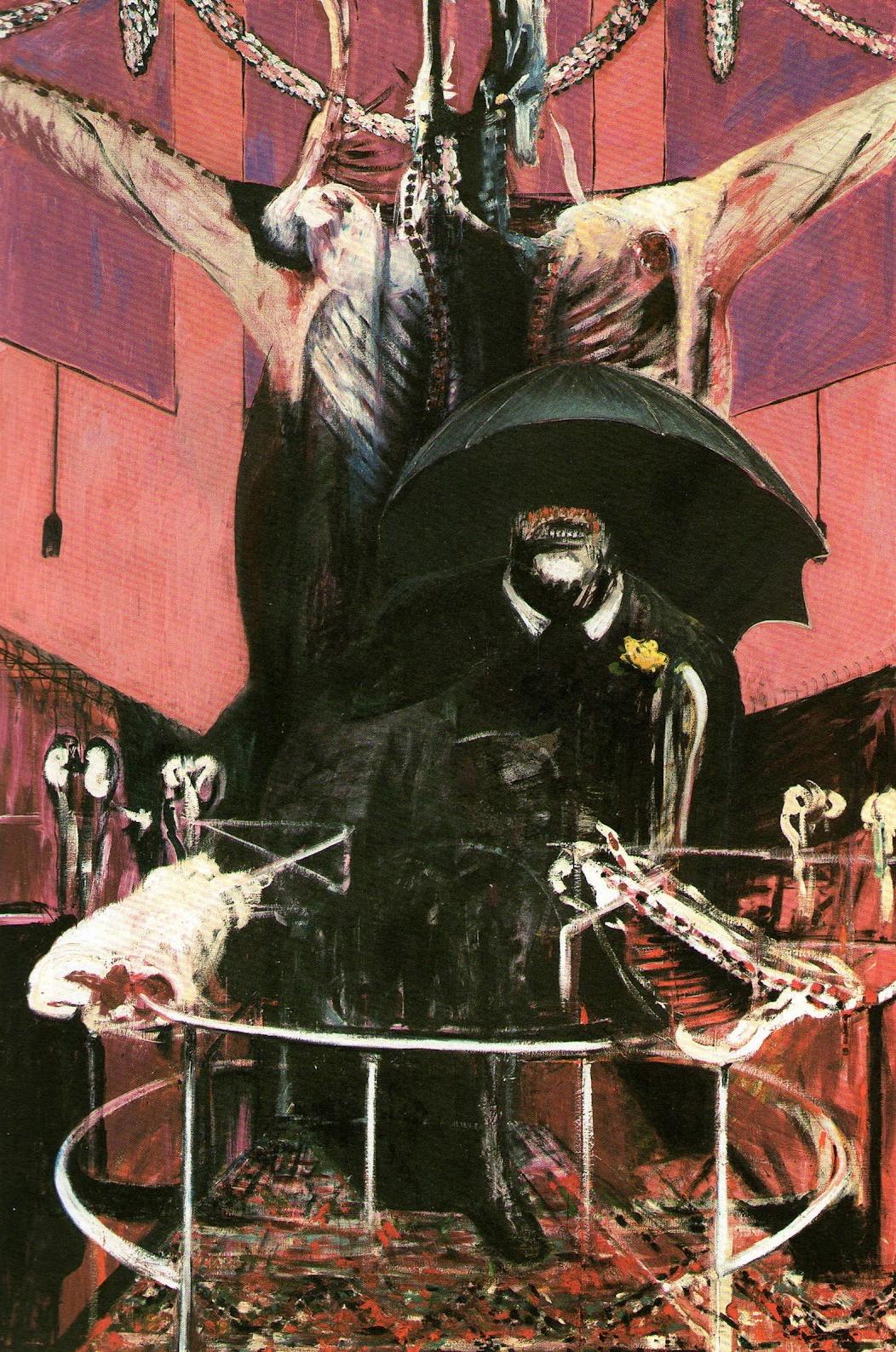 magictransistor :      Francis Bacon. Painting, 1946.