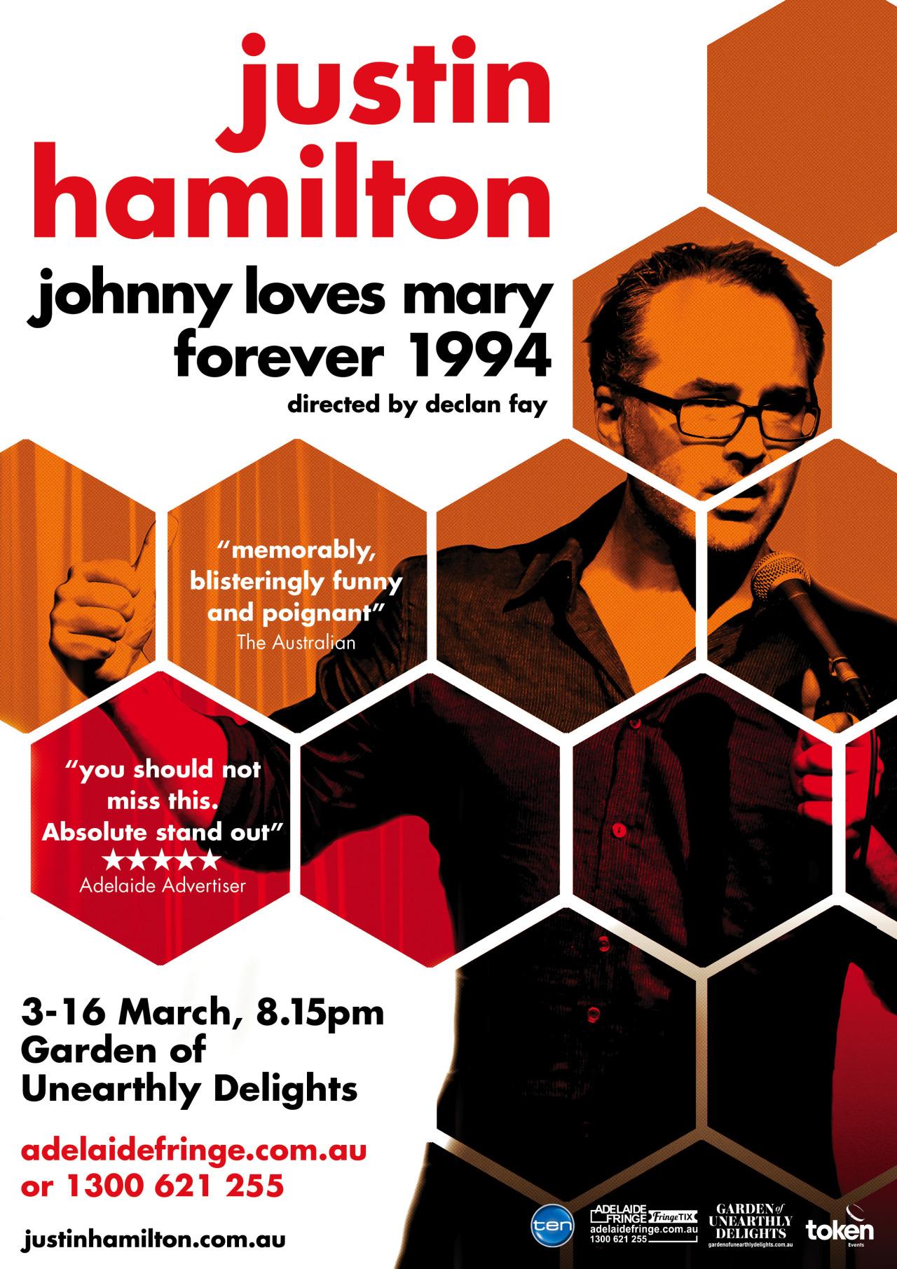Poster I designed for @justinhamilton_'s new Adelaide Fringe and MIC show. Go see it.