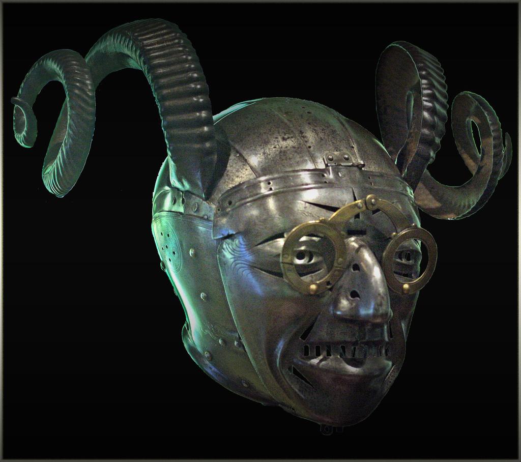 The Horned Helmet.