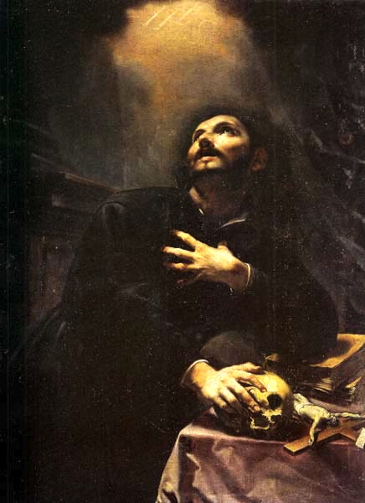 necspenecmetu :     Cristoforo Savolini, Saint Ignatius Loyola, 17th century     LEMMY?