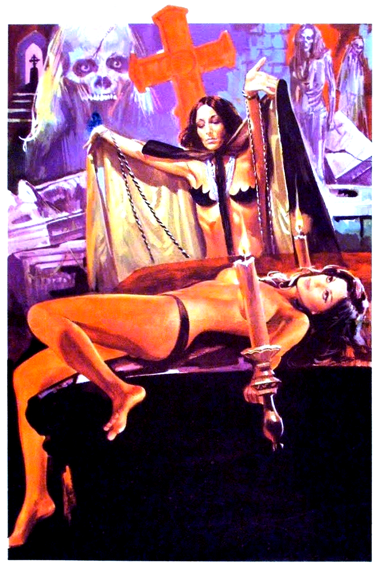 coitusandcarnage :     rare poster art for Jean Rollin's  Shiver of the Vampires
