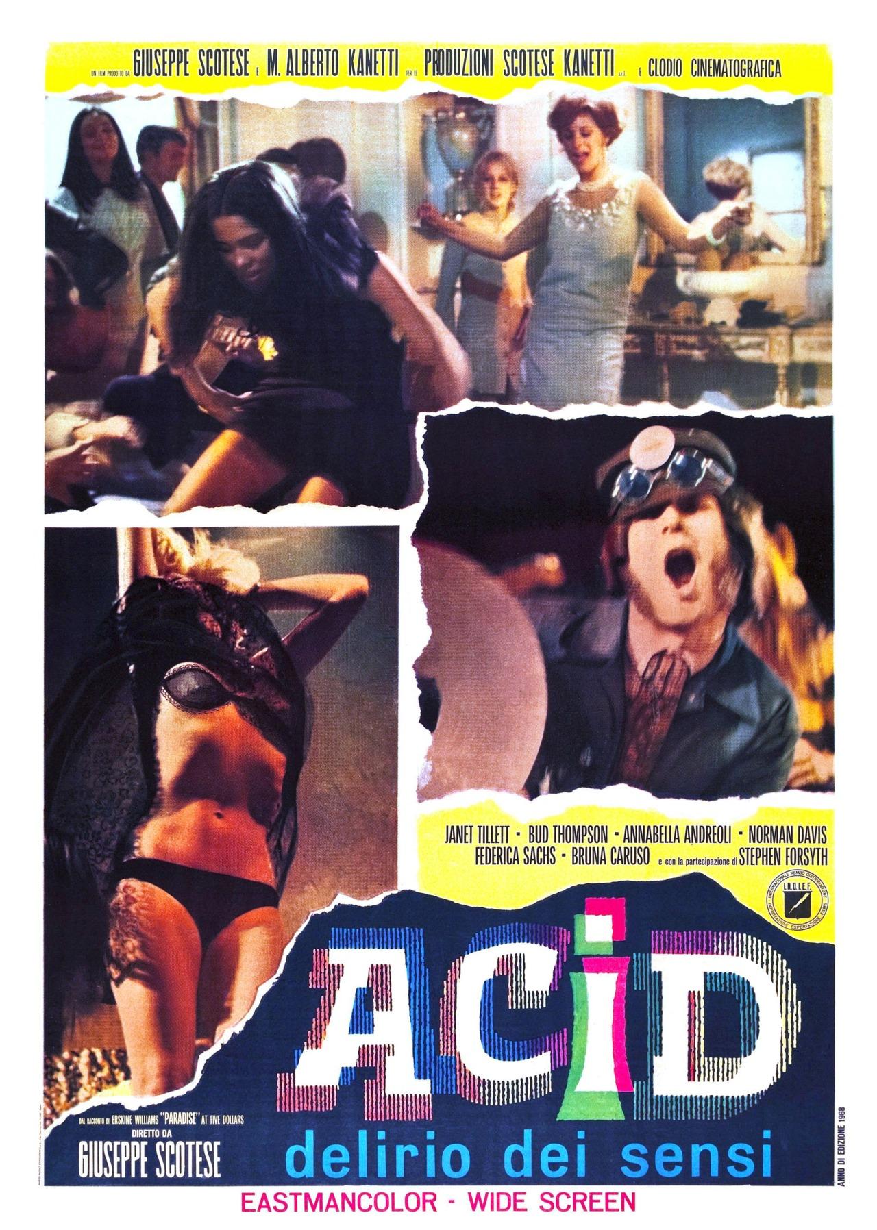 Acid: Delirio Dei Sensi    http://bit.ly/H0KEhp  (Via @dangerousmindsblog) #PosterSwooon