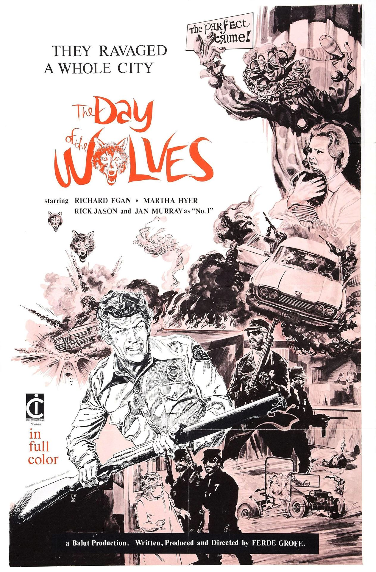 The Day of the Wolves #PosterSwoon