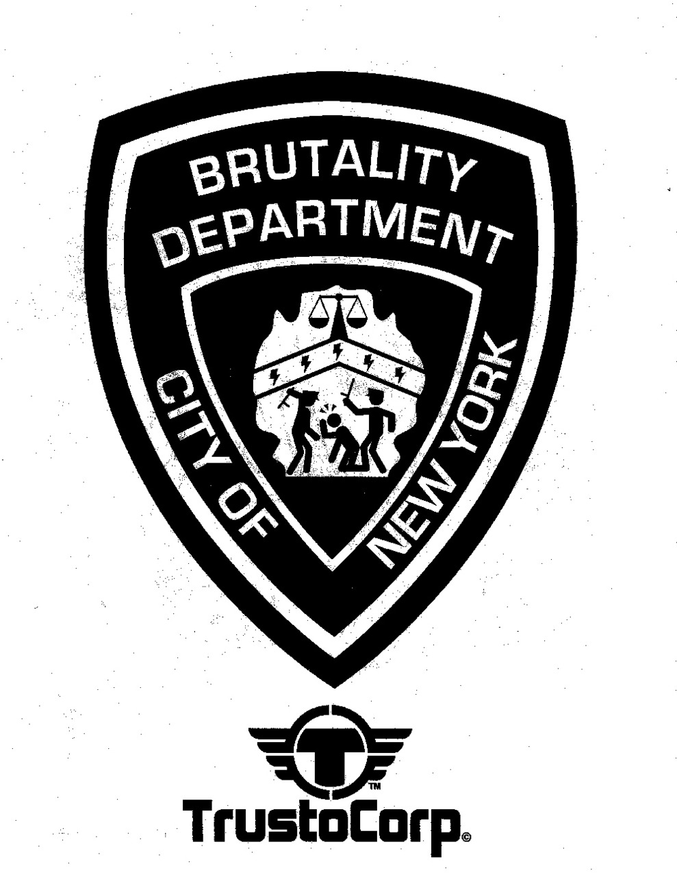 Police Brutality Colouring Book  via @theunderwire