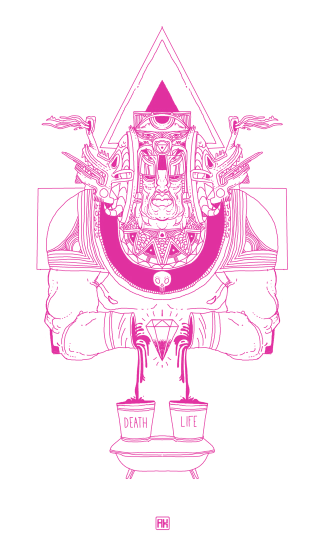 Akeno Omokoto  #illustrationswoon