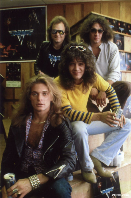 Unearthed Photos: Van Halen 1978 In-Store Appearance