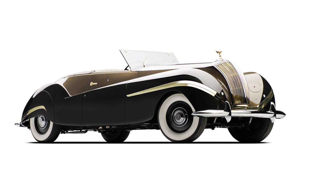 Rolls Royce Phantom III Cabriolet. #designswoon