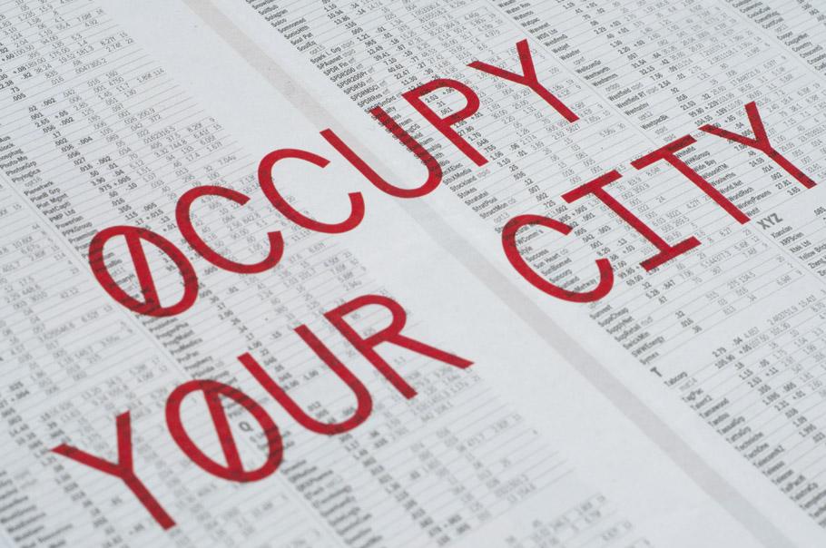 'Occupy' Typeface