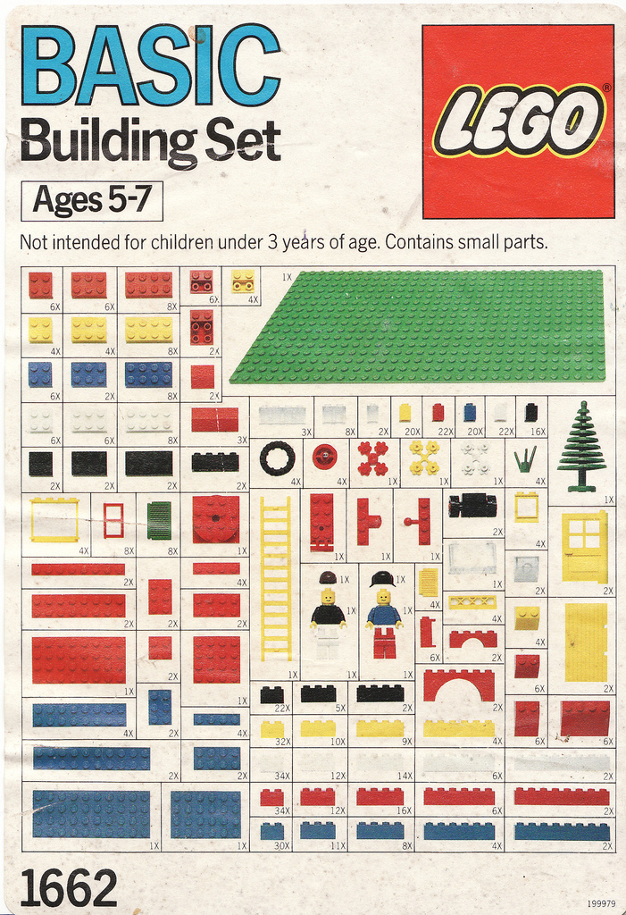 c86 :     LEGO - Basic Building Set 1662, 1989   via  Calsidyrose