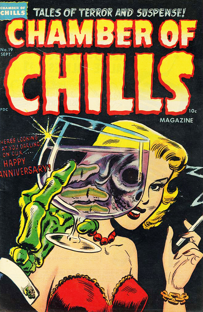 vintagegal :     Chamber of Chills issue 19, September 1953