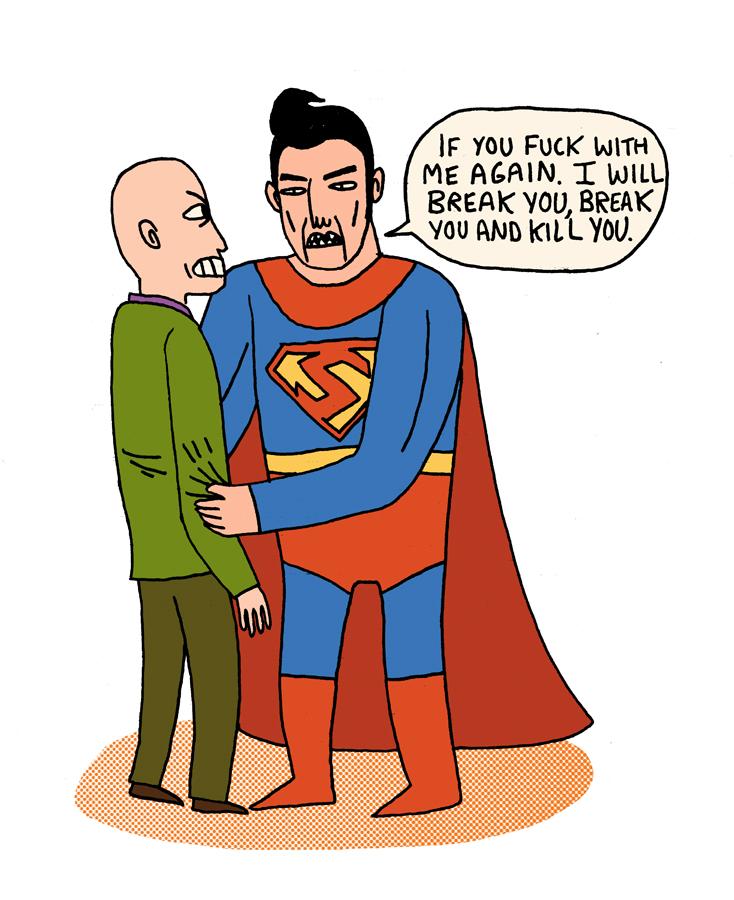 jackteagle :     Superman by Jack Teagle